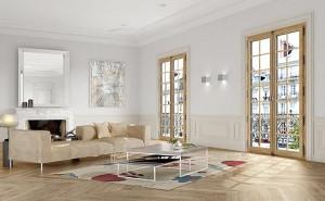 La fenêtre bois style Haussmann gmi