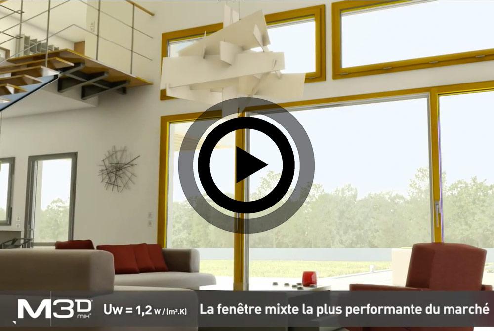 fen tre multi mat riaux le concept unique m3d et sy ma le hub gmi. Black Bedroom Furniture Sets. Home Design Ideas