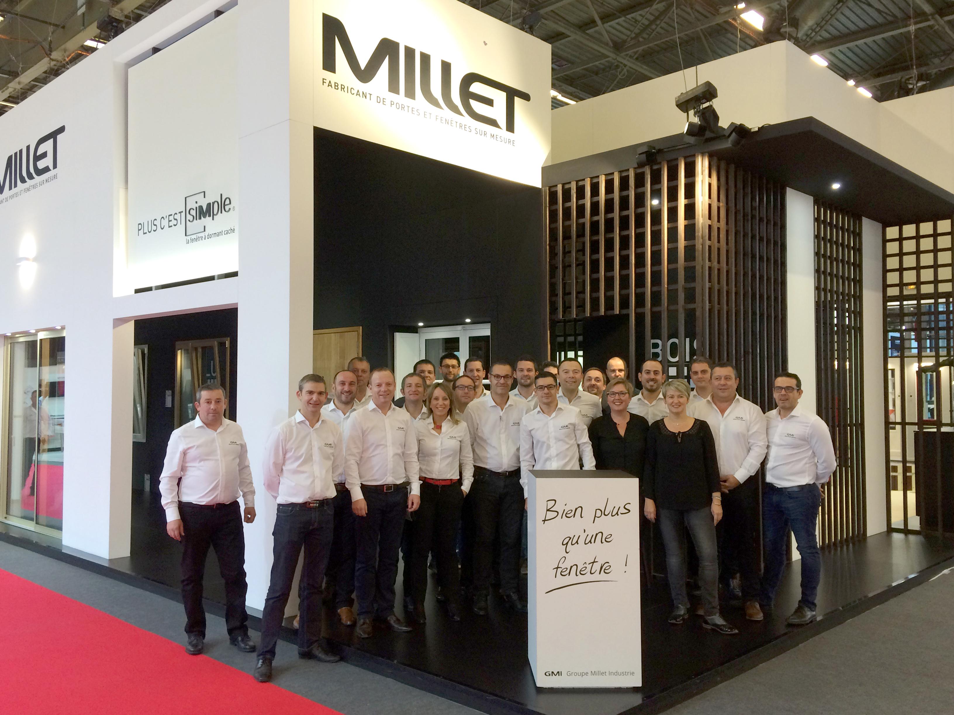 equipe groupe millet batimat 2017