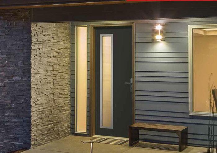 good dcouvrez la nouvelle collection des portes duentre pvc with millet porte et fenetre. Black Bedroom Furniture Sets. Home Design Ideas