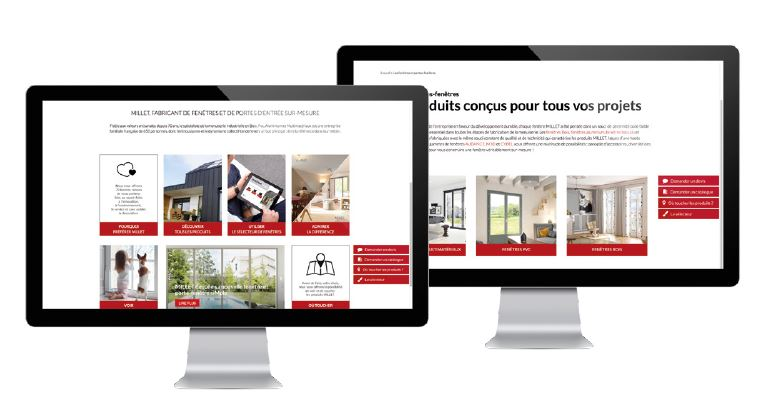 screen home page site millet