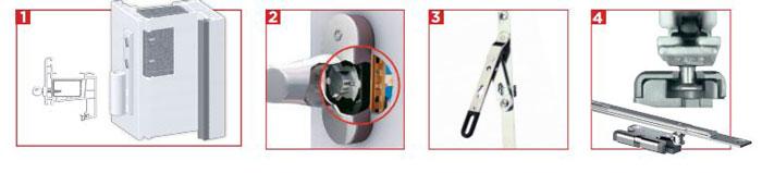Détail du pack sécurité fenêtres PVC Millet