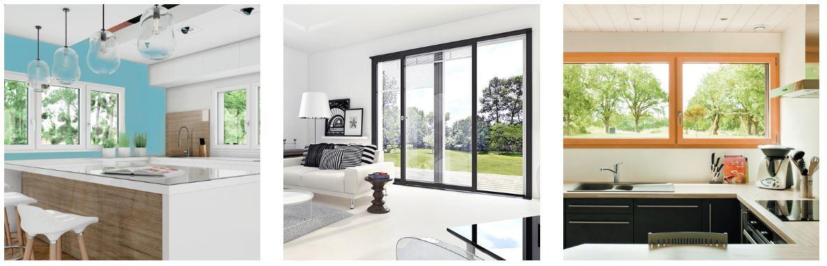 3 matériaux intérieurs pour les fenêtres