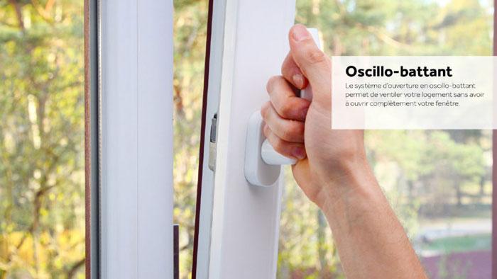 oscillo-battant fenêtre Millet