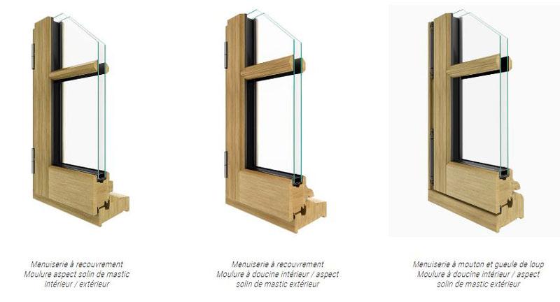 les fenêtres bois du groupe Millet